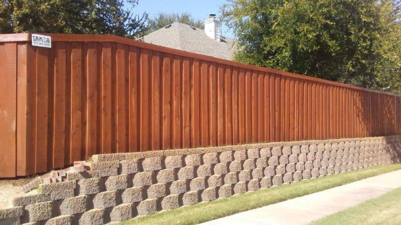 Solid Gray Fence Stain Sierra Wood Defender On New Cedar