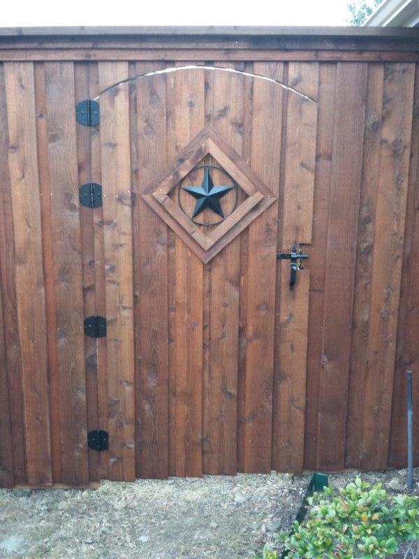 Wood Gates Texas Best Stain
